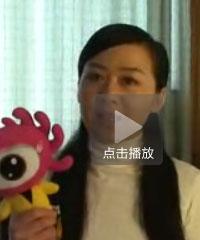 李琳祝福新浪SHOW的网友海选成功